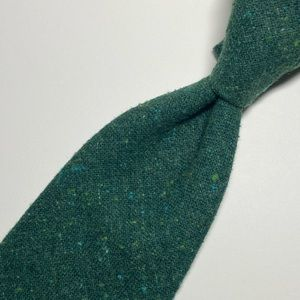 Other - Bottle Green Speckled Wool Tie Anonymous